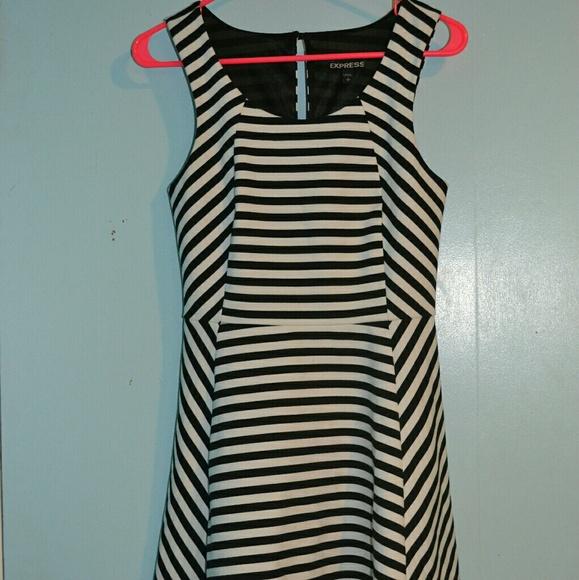 Express Dresses & Skirts - Express Striped Dress